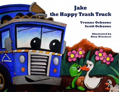 Jake the Happy Trash Truck